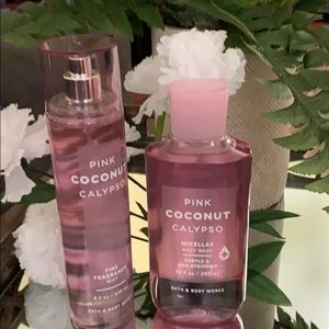 NEW BBW CLEARENCED Pink Coconut Calypso 2 pC
